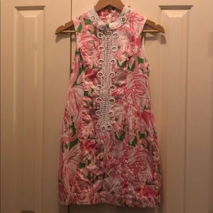 Lilly Pulitzer zip up dress size 0